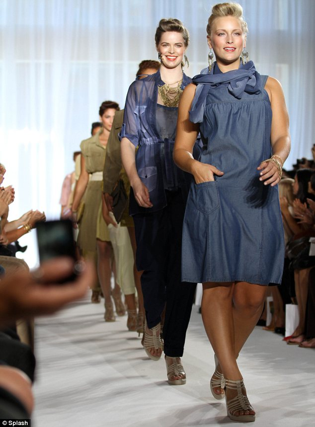 The One Stop Plus Fashion Show At New York Fashion Week Trendy