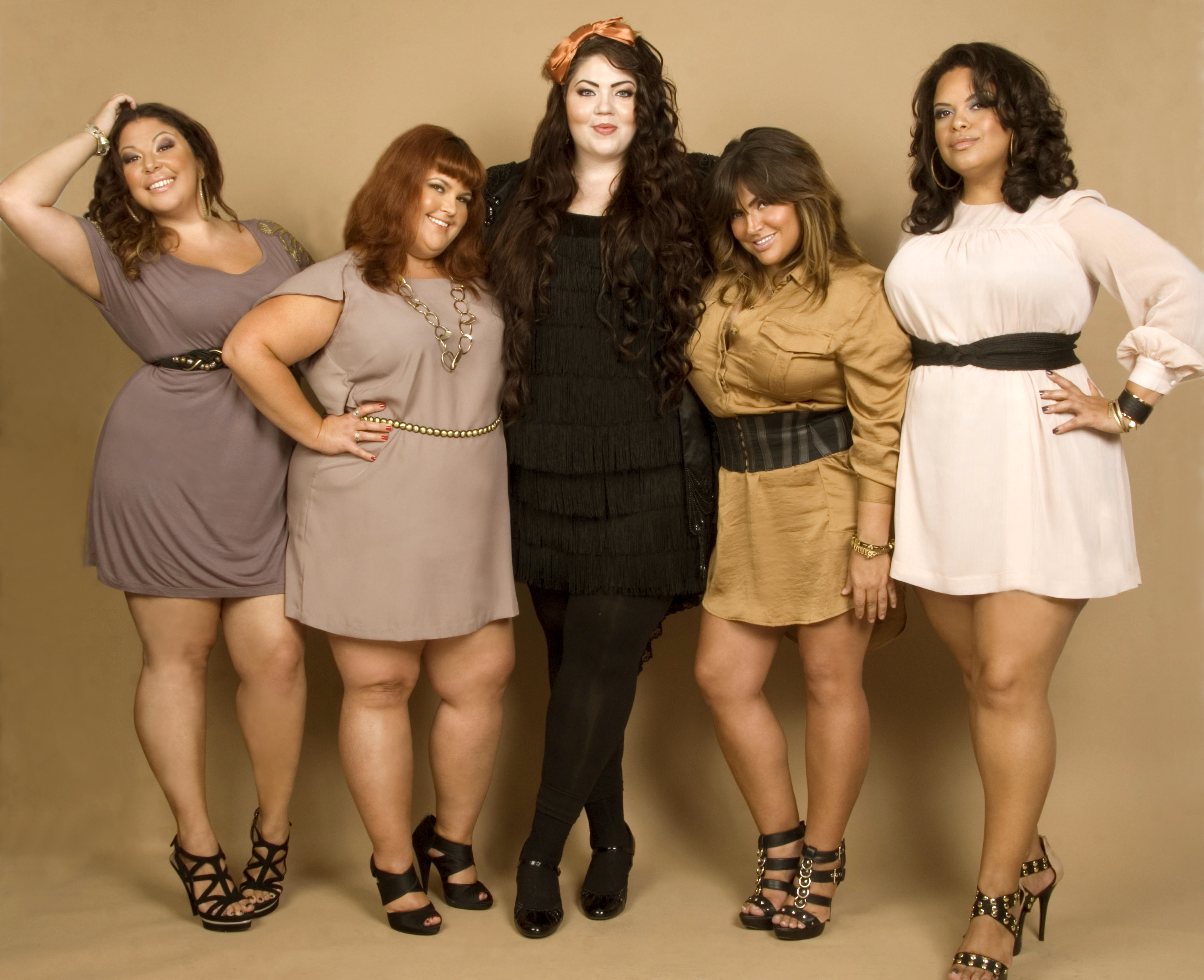 Plus size reality dating show
