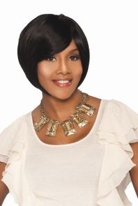 I went wig shopping yesterday and just so happened to stumble upon a Vivica ...