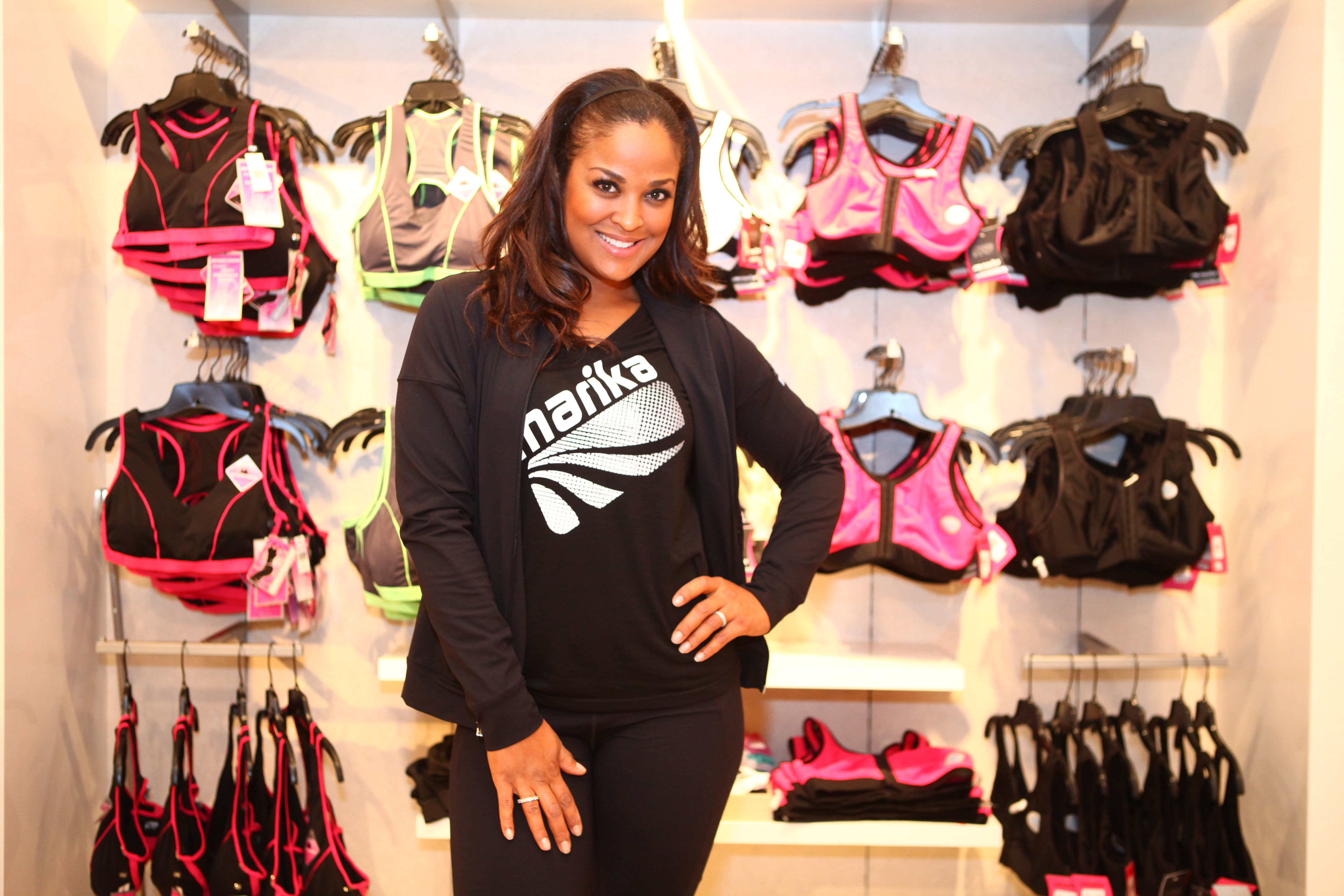 laila ali introduces new sportsbra collection from marika