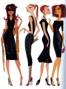 Plain Black Maxi Dress on The Lbd     Little Black Dress         Trendy Curves     By Bella