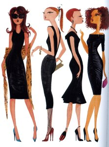 Plain Black Maxi Dress on The Lbd     Little Black Dress         Trendy Curves     By Bella