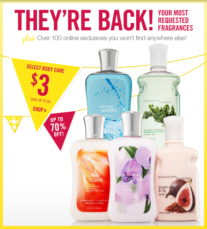 The Bath & Body Works Semi-Annual Sale Starts Online Today ...