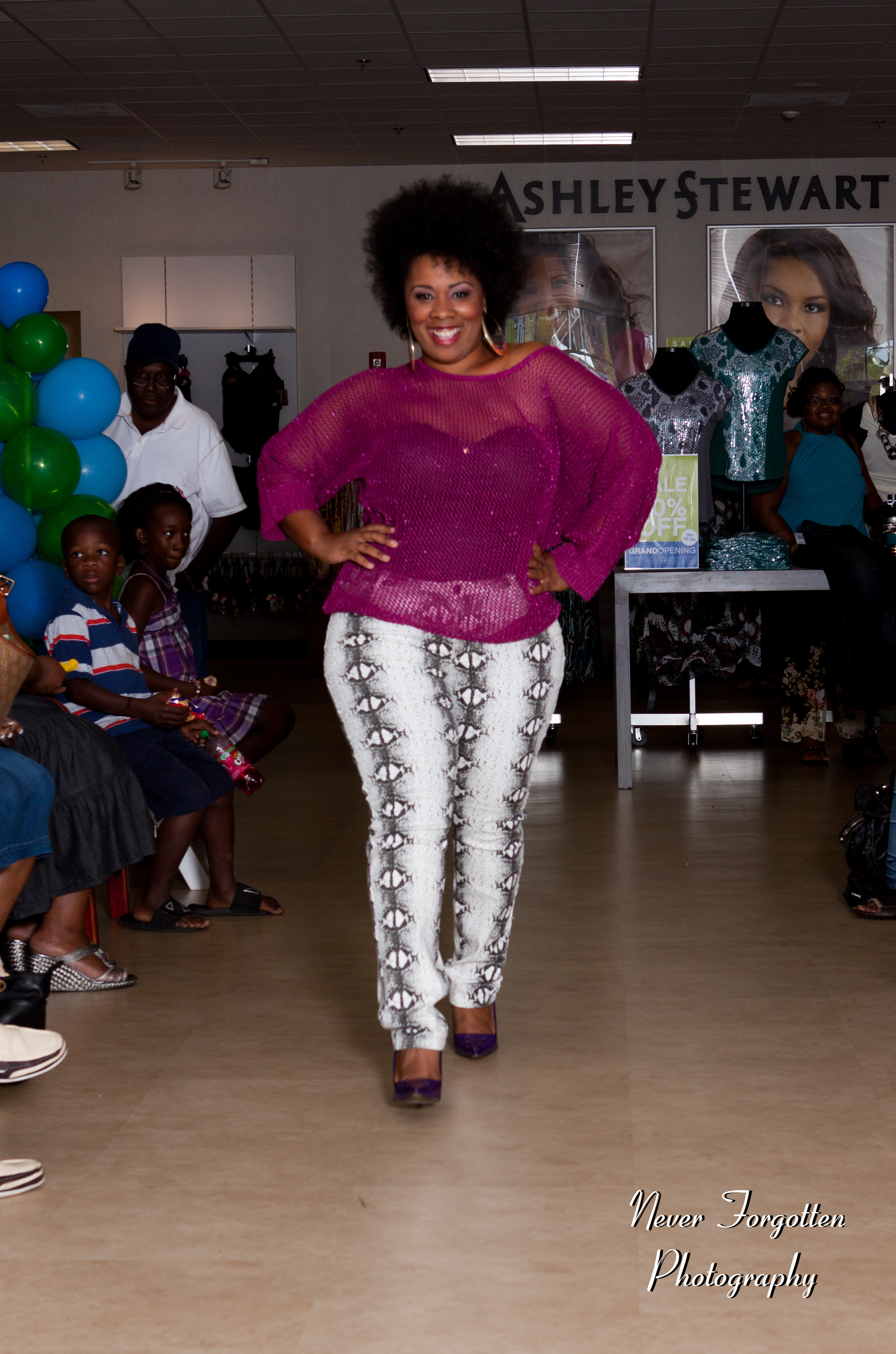 Fashion show at willow lawn mall quot trendy curves quot by bella styles