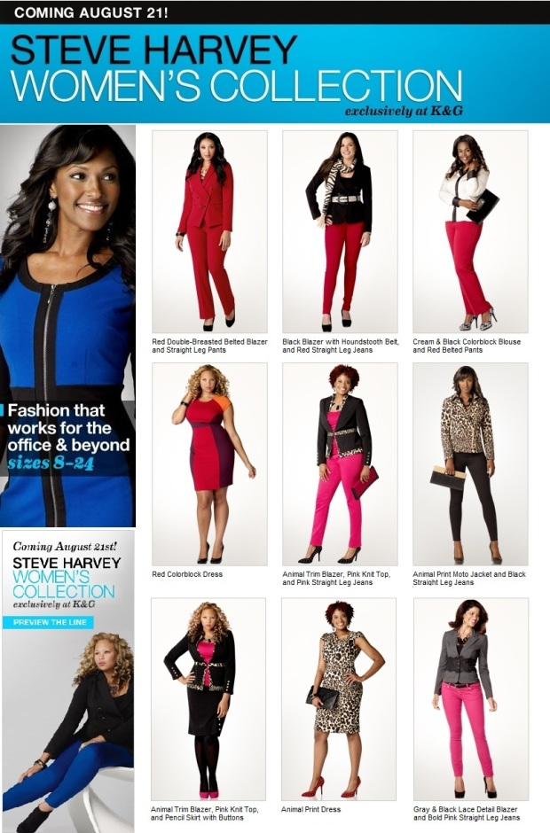 comedian steve harvey to debut women u2019s collection that