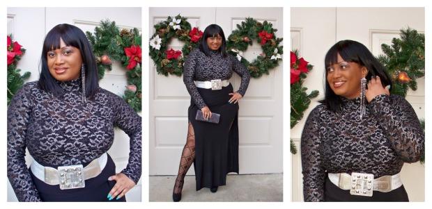 Split Dress 2 Collage