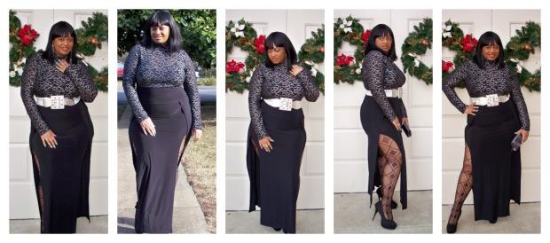Split Dress Collage