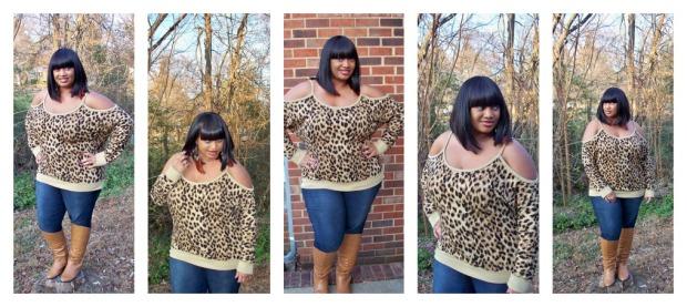 Torrid Leopard Collage