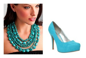 Turquoise Accessories Collage