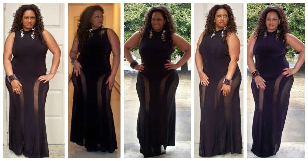 Kelly Grammy Look Collage