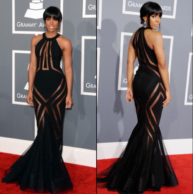 "The Look For Less: ""Kelly Rowland's Georges Chakra Grammy Awards ..."