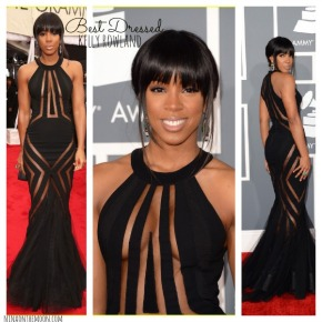 kellyrowlandbestdressed2013grammyawards