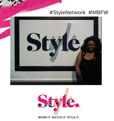 Style Photo Booth Pic at NYFW