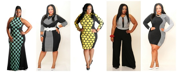Chic and Curvy Collage