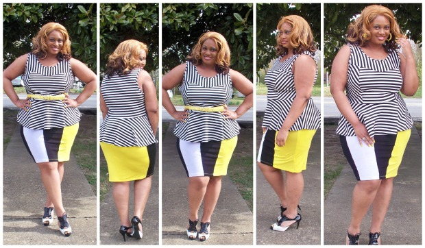 Stripes and More Collage