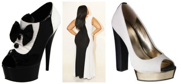Tuxedo Shoe Collage