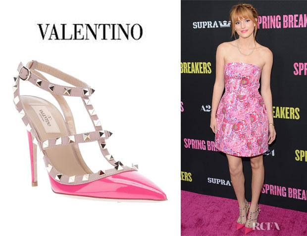 Bella-Thornes-Valentino-Rock-Stud-Sandals