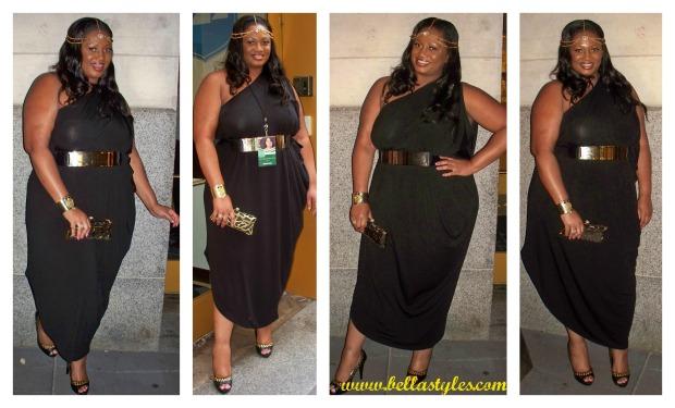 CC Drape Dress Collage