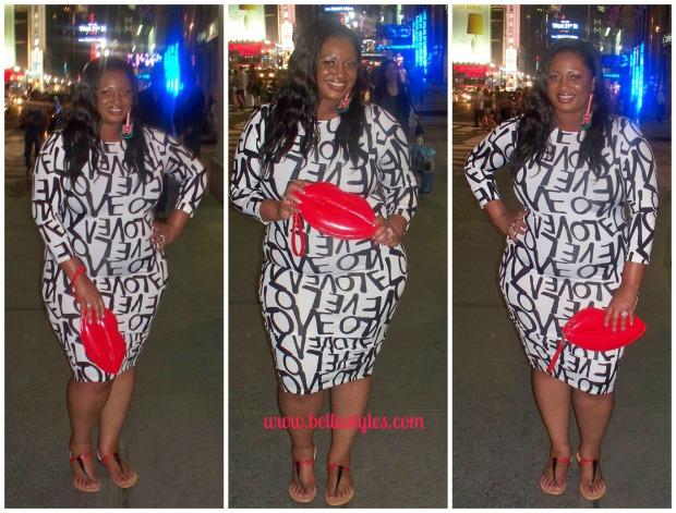 Love Dress Collage