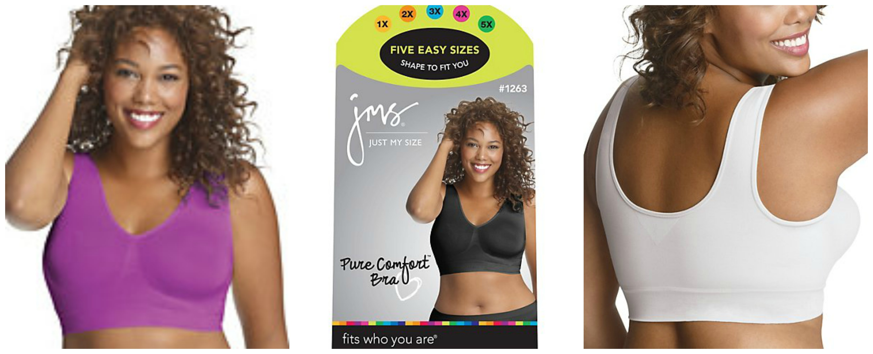 "a7207fa9db81f Product Review  ""The Just My Size Pure Comfort™ Seamless Wirefree ..."