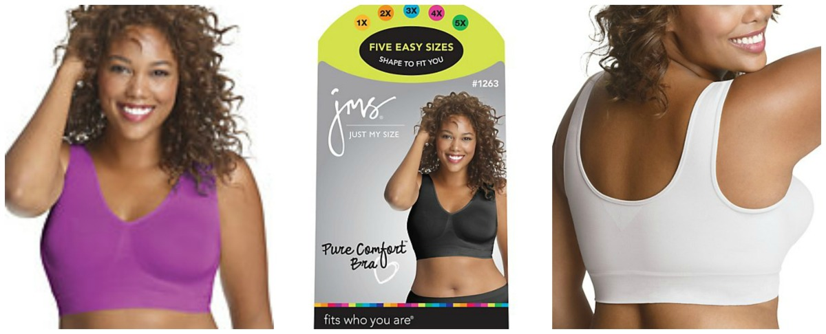 "8cad085f9331 Product Review: ""The Just My Size Pure Comfort™ Seamless Wirefree Bra"" 