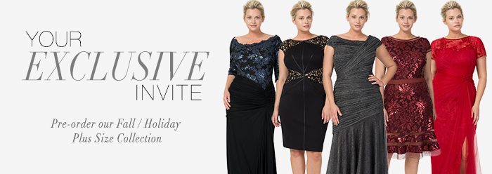The 2013 Fall/Holiday Plus-Size Collection from Tadashi Shoji ...