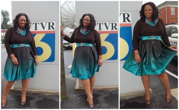 Drew Dress Collage