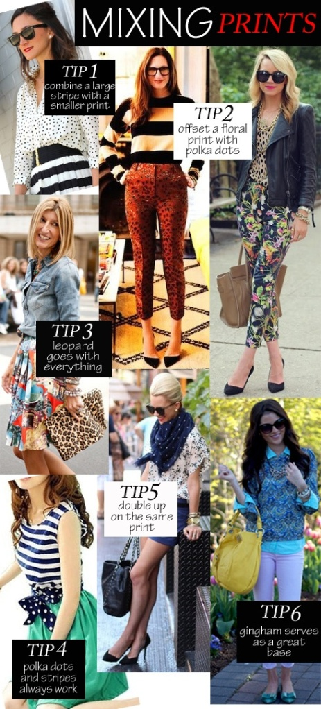 Mixed Prints Trend- Chanay