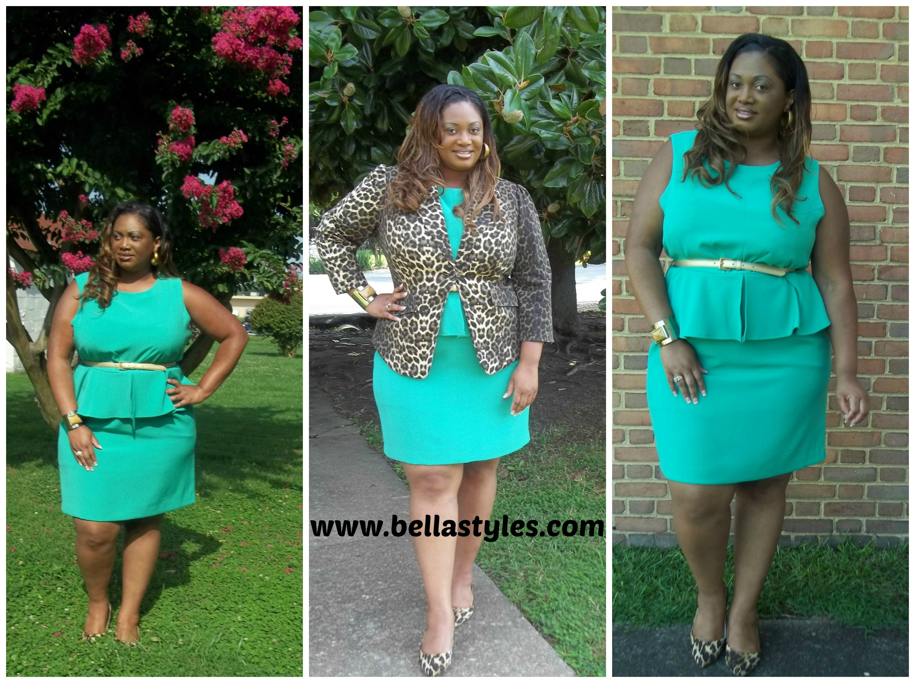 "OOTD: ""The Steve Harvey Peplum Dress"" 