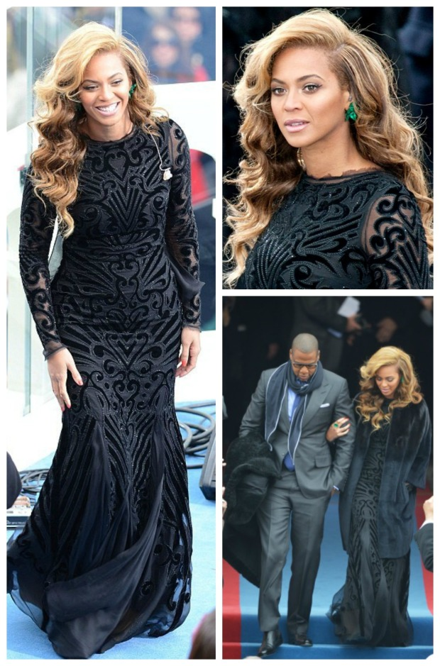 Beyonce Inaguration Collage