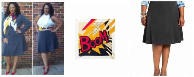 Boom Skirt Collage