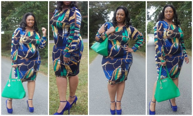 CC Chain Dress Collage