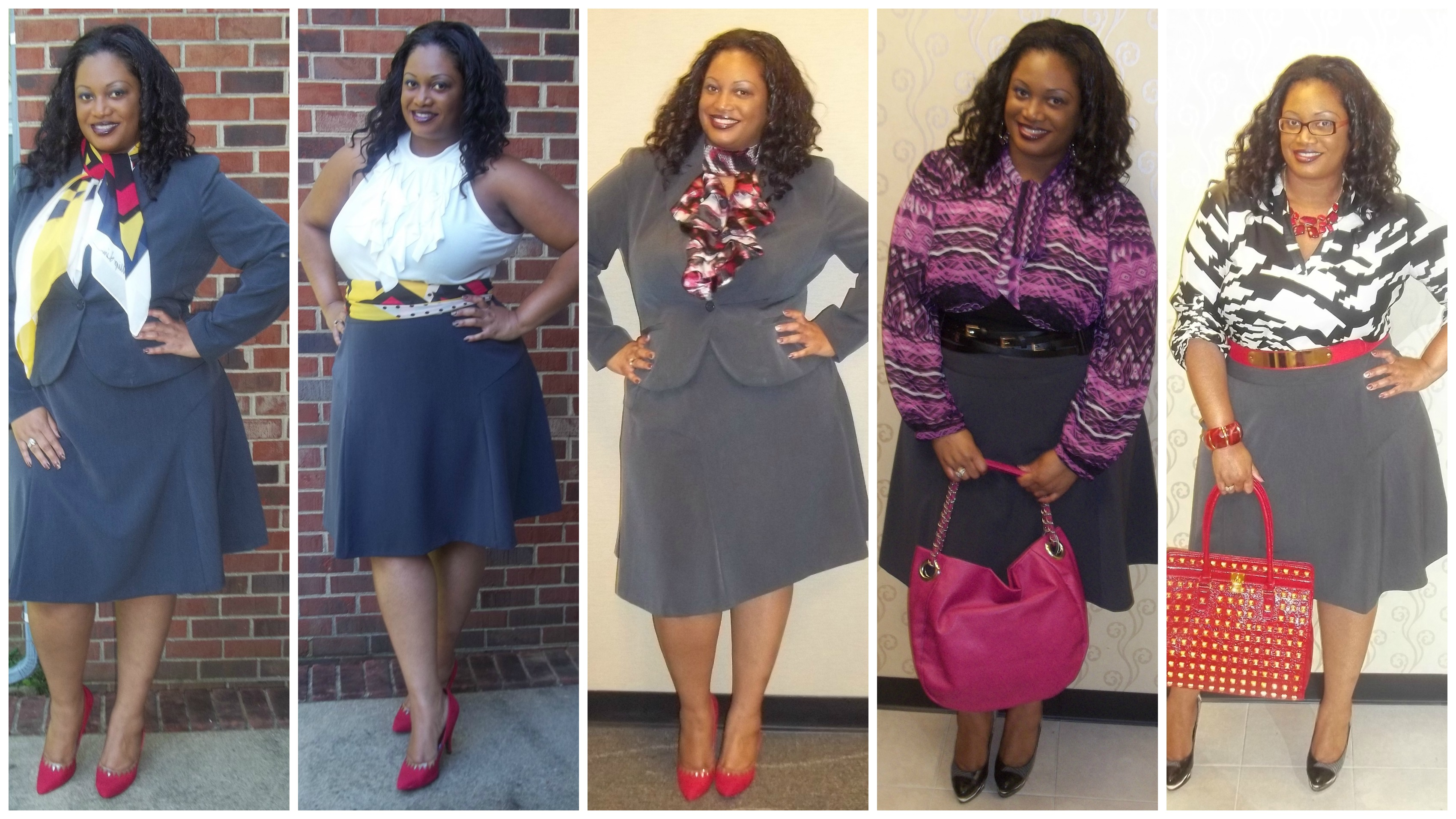 "Ashley Stewart's Desk to Dinner Style Contest | ""Trendy Curves ..."