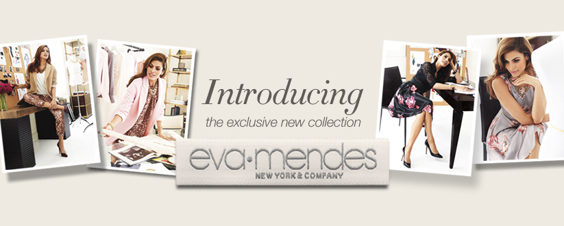 the eva mendes for new york and company collection
