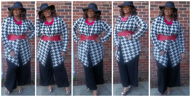 Houndstooth Collage