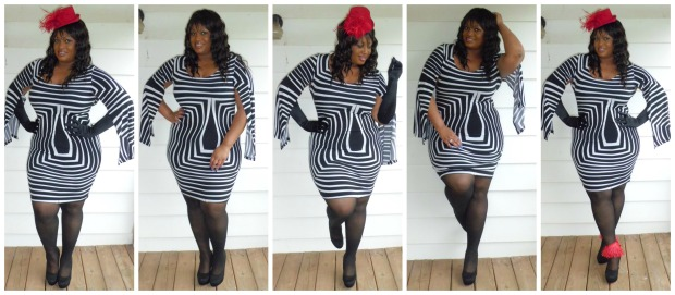 Cape Dress Collage