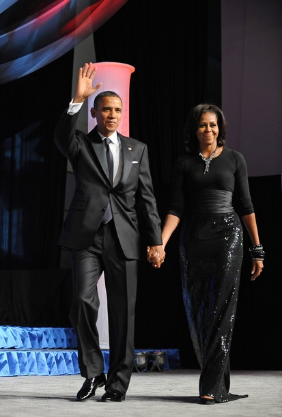 "d66ad20b3b Grab Her Style: ""Michelle Obama's Michael Kors Sequin Skirt ..."