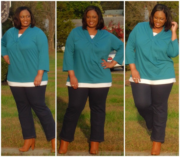 JMS Pajama Jeans Look #2 Collage