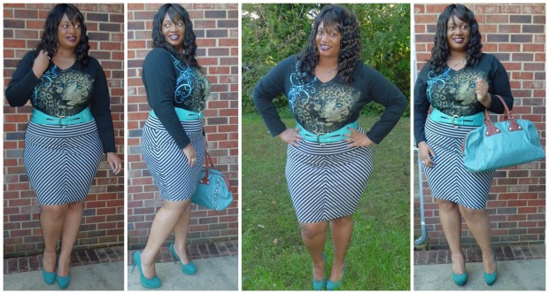 JMS Tee and Skirt Collage