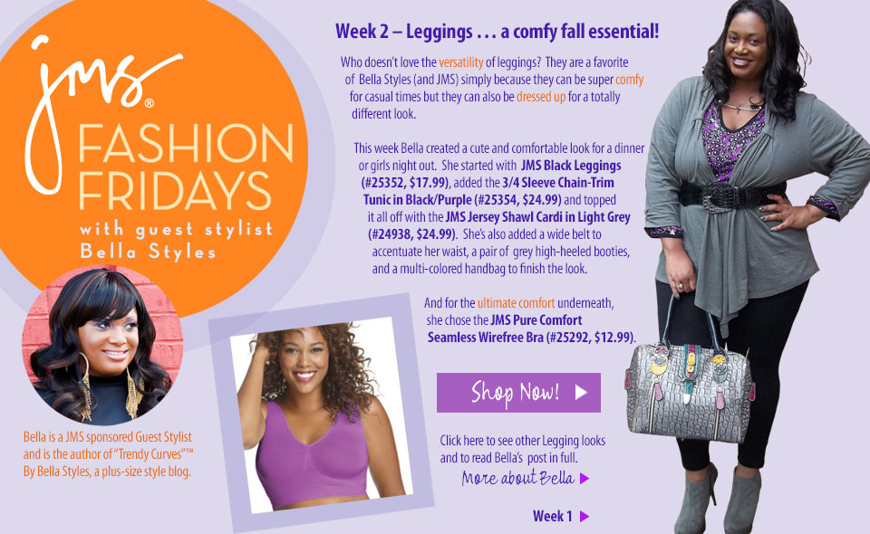 5ee2be831f9 OOTD  Week  2- Fashion Friday in Just My Size Leggings