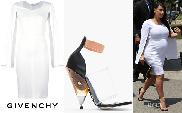 Kim-Kardashians-Givenchy-shoes-dress