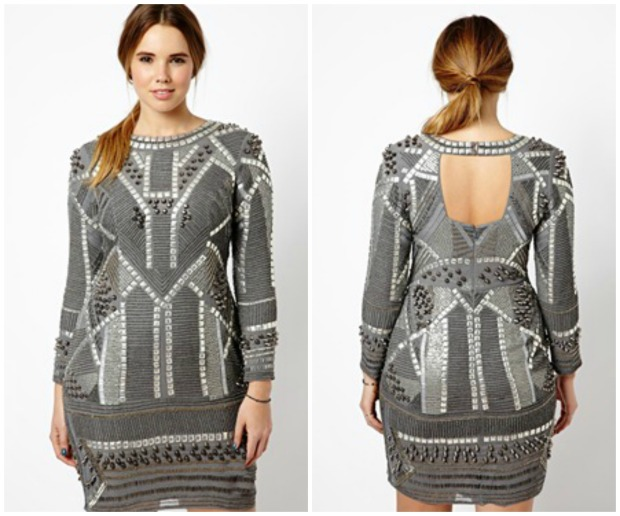 Asos Armour Dress Collage