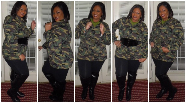 Camo Jacket Collage