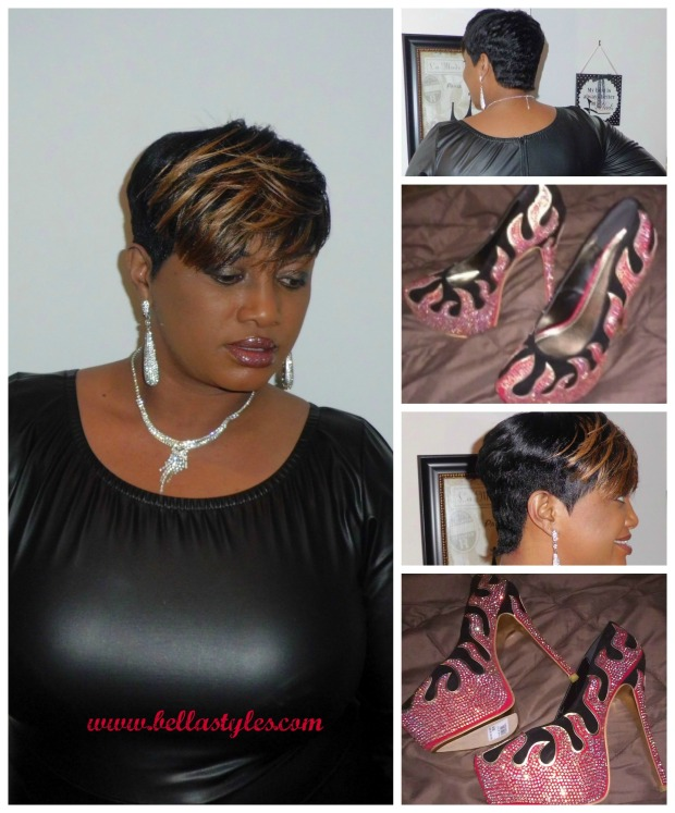 Short Cut and Pumps Collage