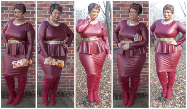 burgundy-peplum-collage