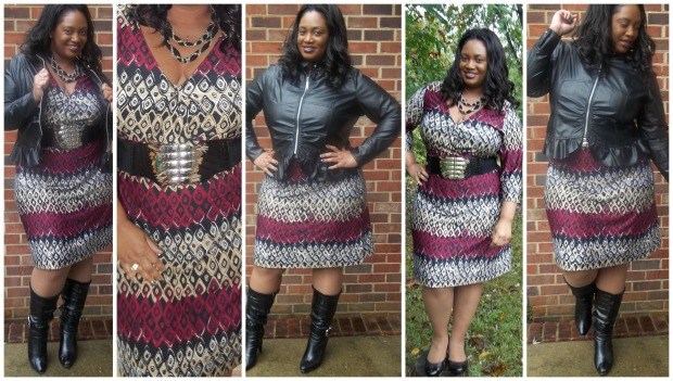 JMS Print Dress #2 Collage