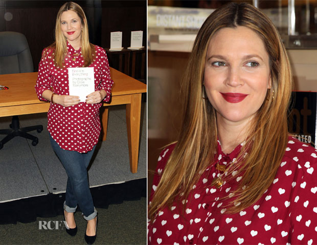 Drew-Barrymore-In-Topshop-Brand-Barnes-Noble-Book-Signing