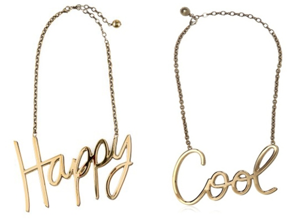 Lanvin Happy Cool Necklaces