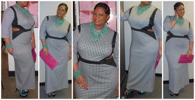 Tracy Dress Collage