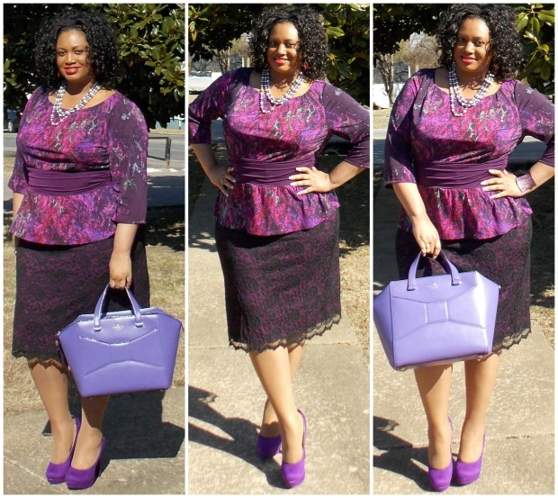Berry Nicolette Dress #2 Collage